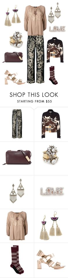 """""""FLY AWAY"""" by ramakumari ❤ liked on Polyvore featuring Valentino, Victoria Beckham, Want Les Essentiels de la Vie, Iosselliani, House of Harlow 1960, Kismet by Milka, Steffen Schraut, Shashi, Marni and Delpozo"""