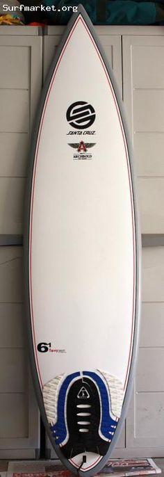 Santa Cruz Surfboard  Matt Archbold Model   de Epoxy...  6'1 x 18.25 x 2.14  Forro Santa  Cruz, Quillas Future Fins  Santa  Cruz, Grip  Island  Style...  Contactar por  mail:  playalombre@gmail.com