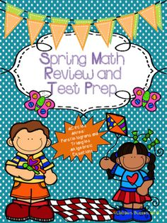 Spring Math Review and Test Prep contains 3 printables that contain multiple choice answers.  It is a great way to review before state testing in the spring.  I will be using it for 6th grade students, but it could also be suitable for 5th or 7th grade students.