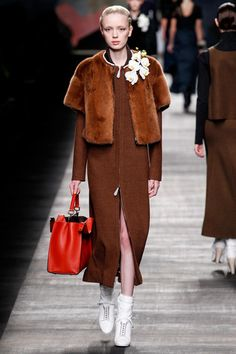 Fendi Fall 2014 Ready-to-Wear Collection Slideshow on Style.com