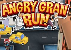 iPhone, iPod and iPad Touch Games / Applications : Angry Gran Run ~ All-in-One
