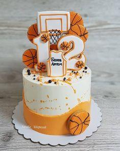 Custom Birthday Cakes, Cool Birthday Cakes, Fondant Cakes, Cupcake Cakes, Sport Cakes, Baby Boy Cakes, Sweet Bakery, Paper Cake, Cake Pictures