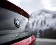 I know...now you are dreaming!  Bmw Zagato Coupé.
