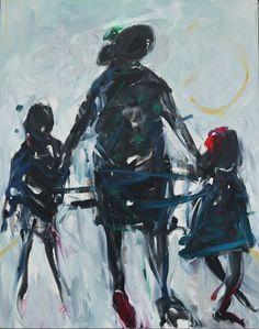 Sin título. Óleo sobre lienzo. 162 x 130 cm. 2014. - Artista: Jorge Rando