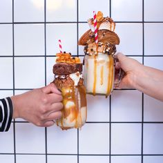 Molly's Bakes in Wast London for these milkshakes. Please!
