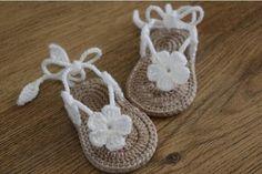 SIERRA CROCHET  BABY SANDALS