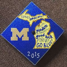 Beautiful grad cap!