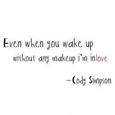 Cody Simpson <3 love him! Got me good lyrics