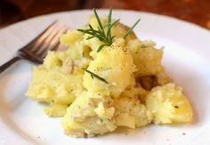 Lemon Rosemary Smashed Potatoes by urbansacredgarden #Potatoes #Lemon #Rosemary #urbansacredgarden