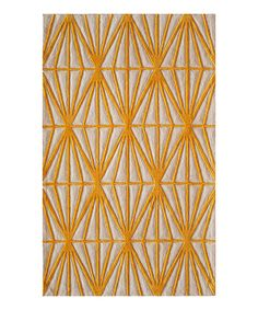 Gold Diamond Rug