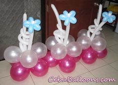 Stage Decors for Girl Christening