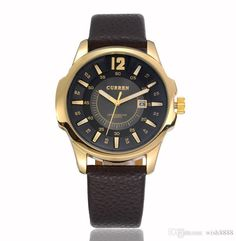 2015 Fashion Big Dail Japan Movement Quartz Brand Luxury Wrist Watches Men Auto Date Calendar Business Wristwatches Sports Watch