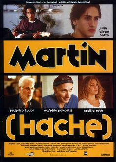 "Martín (Hache) - Adolfo Aristarain 1997 - DVD04397 -- ""19-year-old Argentine Martín seems to be interested only in music & drugs. After a nearly fatal drug overdose his mother sends him to Madrid, where his film director father lives with his new much younger lover Alicia & gay actor friend Dante."""