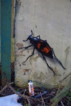 Urban art by Belgian artist ROA