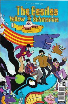 Promotional comic book No. 0 for Bill Morrison's YELLOW SUBMARINE adaptation (Titan)