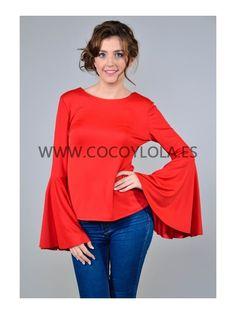 blusas con mangas de flamenca - Buscar con Google