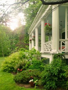 The perfect front yard, perfect porch