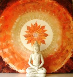 Daily Sacral Chakra Mantra I live life passionately. I enjoy good health and vitality. I enjoy being myself. I am confident. I love supporting my dreams. Buddha Kunst, Buddha Zen, Buddha Buddhism, Mantras Chakras, Sacral Chakra, Chakra Mantra, Little Buddha, Zen Meditation, Images