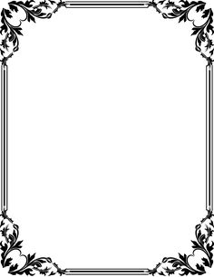 18 best photos of frame border design islamic borders and frames black
