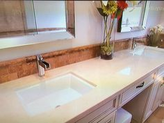 Tile and countertop