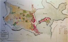 Map of Concarneau (1808)