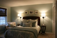Sherwin Williams Rainwashed -Guest Room