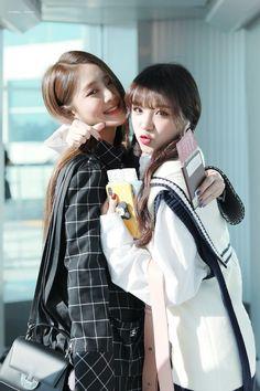 Yuqi and Minnie Kpop Girl Groups, Korean Girl Groups, Kpop Girls, First Girl, New Girl, Soyeon, Soo Jin, Fandom, Kim Jaehwan