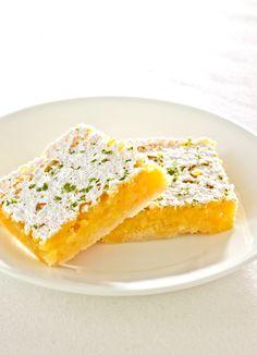 Moist Lemon-Lime Bars