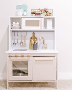 simple and modern play kitchen IKEA hack — emelbe design
