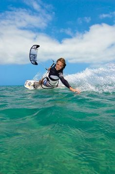 Go back to Boracay during 'Kiteboarding ' season and get a decent photo of kite-boarders in action.