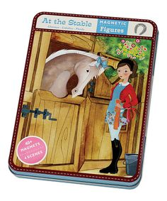 Look at this #zulilyfind! 'At the Stable' Magnetic Puzzle Set #zulilyfinds