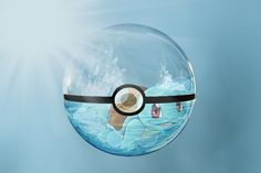 Squirtle in pokeball by Mofoh.deviantart.com on @DeviantArt