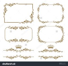 stock-vector-vector-set-of-decorative-horizontal-elements-border-and-frame-basic-elements-are-grouped-93528283.jpg (1500×1464)