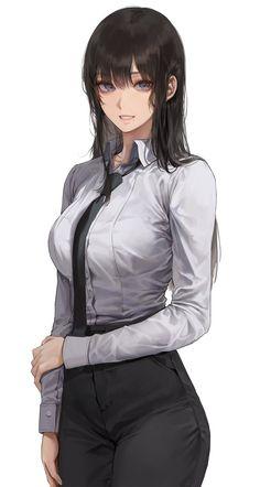 Manga Anime Girl, Pretty Anime Girl, Cool Anime Girl, Beautiful Anime Girl, Kawaii Anime Girl, Anime Girls, Female Character Design, Cute Anime Character, Character Art