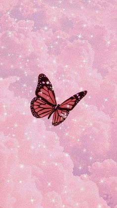 Pink Wallpaper Backgrounds, Butterfly Wallpaper Iphone, Iphone Wallpaper Tumblr Aesthetic, Cute Patterns Wallpaper, Purple Wallpaper, Iphone Background Wallpaper, Cute Wallpapers, Aesthetic Wallpapers, Iphone Wallpapers