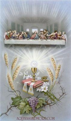 Communion Prayer Card