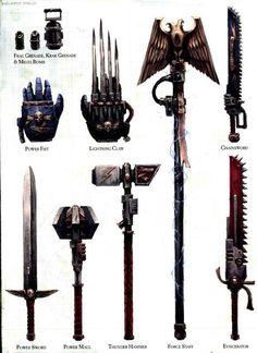 Warhammer weps