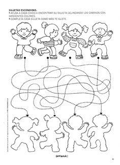 Art Activities For Toddlers, Motor Activities, Preschool Worksheets, Preschool Activities, Human Body Crafts, Maze Worksheet, Sports Theme Classroom, My Little Baby, Lessons For Kids