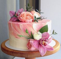 44 ideas cupcakes wedding pink desserts for 2019 Rosa Desserts, Pink Desserts, Fun Cupcakes, Wedding Cupcakes, Wedding Desserts, Gorgeous Cakes, Pretty Cakes, Buttercream Wedding Cake, Buttercream Cake Decorating