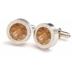 Rachel Jackson London - Birthstone Cufflinks November ($135) ❤ liked on Polyvore featuring men's fashion, men's accessories and cuff links