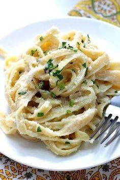fetuccini alfredo recetas para pastas