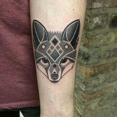 Adorable fox head...