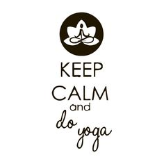 Do Yoga Quote Vinyl Wall Art