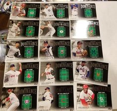 2012 Topps Baseball Mound Dominance Series Complete Mint Set 1-15 Seaver Ryan | Sports Mem, Cards & Fan Shop, Sports Trading Cards, Baseball Cards | eBay!