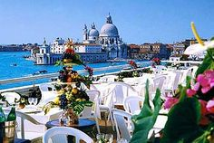 Hotel Danieli Venice Italy.....yeah I love eating up there, best view ever!