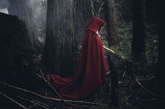 red riding hood, fantasy/ fairy-tale inspired photo shoot
