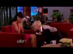 YouTube - The Ellen DeGeneres Show - Interview with Rihanna (November 14, 2012) (Part 2)