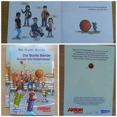 Die Bunte Bande – Seinen Kindern das Thema Inklusion näher bringen. Bestellt euch bei der Aktion Mensch gratis Kinderbücher.
