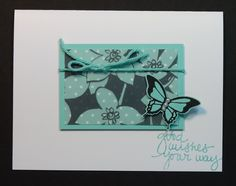 Stampin' Up! Nature's Perfect and Sheer Perfection Vellum Makes Cardmaki...