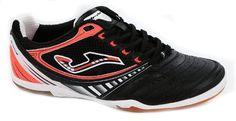 JOMA DRIBLING 301 BLACK-ORANGE INDOOR - http://shoes.goshopinterest.com/mens/athletic-mens/soccer-athletic-mens/joma-dribling-301-black-orange-indoor/